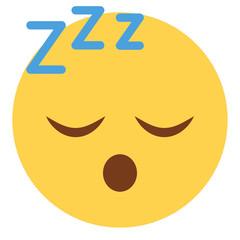Emoji schlafend