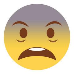 Emoji geschockt