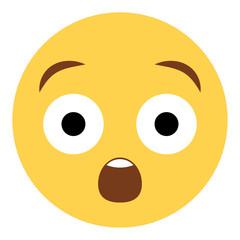 Emoji staunend
