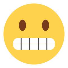 Emoji grinsend