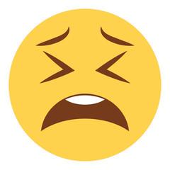 Emoji zweifelnd