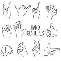 Human hand Gesture
