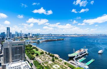 横浜ベイエリア 全景