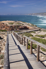Praia da Borderia beach, Carrapateira, Costa Vicentina, west coast, Algarve, Portugal, Europe