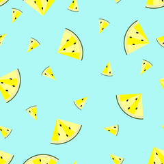 Watermelon pattern. Vector eps 10