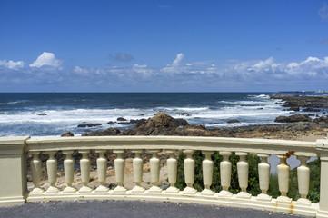 Coast of Porto, in the Foz neighbourhood, Potugal.