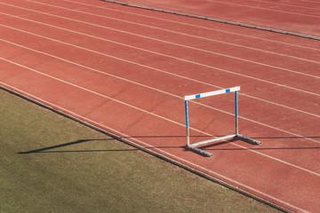 track athletics fence