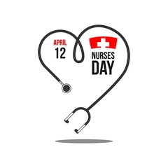 Nurses Day Vector Template Design