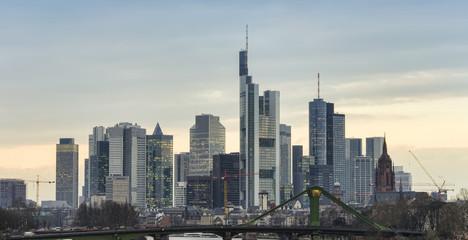 cityscape of Frankfurt am Main city, Germany