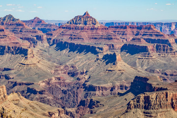Scenic Grand Canyon South Rim Landscape