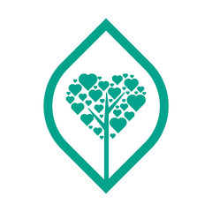 Tree logo design template, symbol for company, use this logo for your company