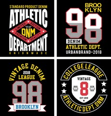design vector patch embroidery collection for t shirt print men