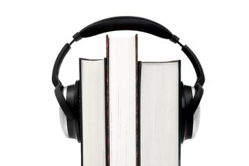 Audiobook - Hörbucher und Kopfhörer