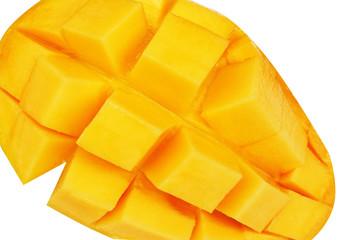 Fresh ripe mango,square shape