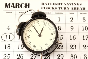 Daylight Savings Spring Forward sunday at 2:00 a.m.