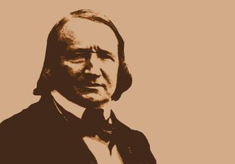 Alfred de Vigny - écrivain - portrait - personnage célèbre - littérature - Vigny - célèbre - livre - romancier