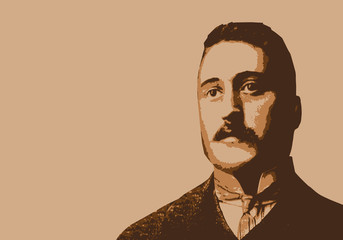 Apollinaire - écrivain - portrait - poète - personnage célèbre - littérature - célèbre - poésie - livre