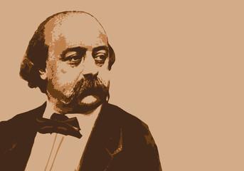 Flaubert - écrivain - portrait - personnage célèbre - littérature - célèbre - livre - romancier - roman