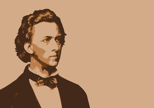 Chopin - musicien - portrait - personnage célèbre - piano - pianiste - musique - célèbre - musique classique