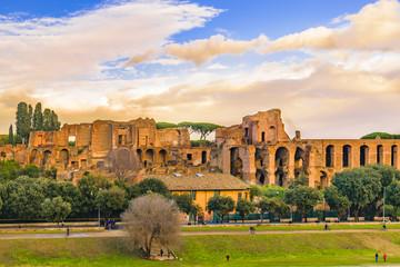 Circus Maximus Exterior View, Rome, Italy