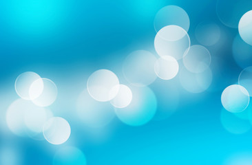 Abstract blue blurred background.