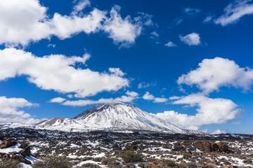 Mount Teide in Tenerife, Canary Islands, Spain.