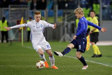 Europa League Round of 16 First Leg - Lazio vs Dynamo Kiev