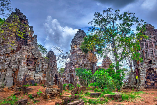 Wat Banan temple, Battambang