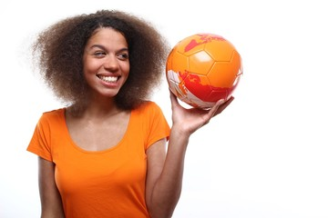 Dutch soccer supporter