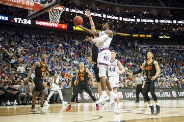 NCAA Basketball: Big 12 Conference Tournament-Kansas v Oklahoma State