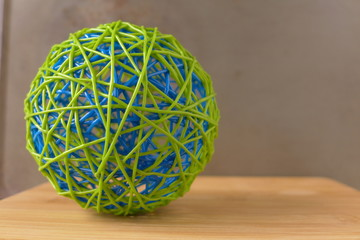 ball of string on desk