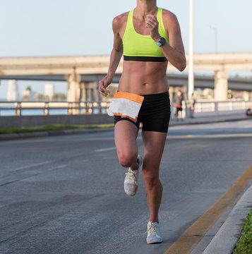 Female Distance Runner