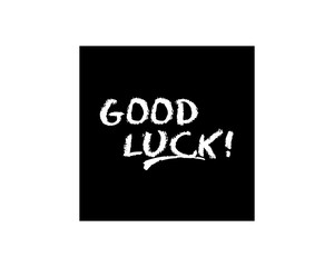 good luck typography typographic creative writing text image 4
