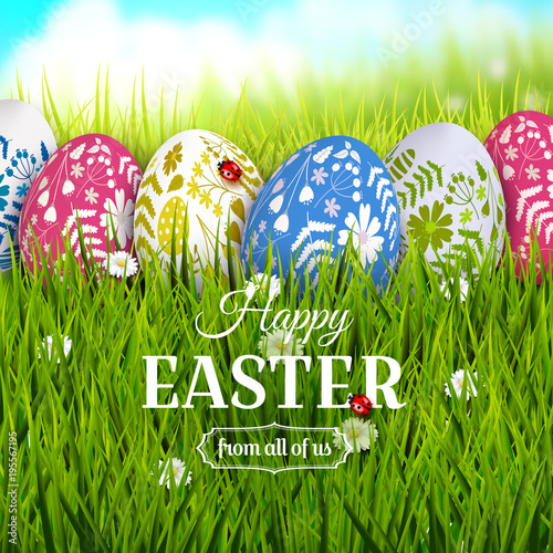 Traditional easter greeting card stock image and royalty free traditional easter greeting card m4hsunfo