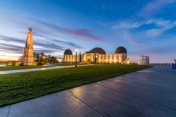 The Griffith Observatory at Blue Hour