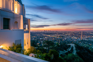 Los Angeles Sunrise from the Observatory
