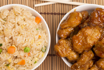 Chinese Food - Sweet and Sour, Orange or Lemon Chicken