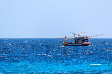Native fishing boat.