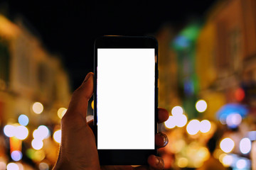 isolated Mobile with Bokeh