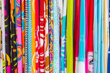 tissus couleurs