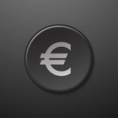 icône bouton internet euro