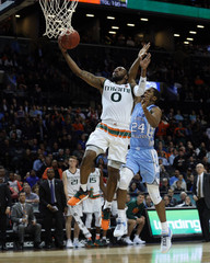 NCAA Basketball: ACC Conference Tournament-Miami vs North Carolina