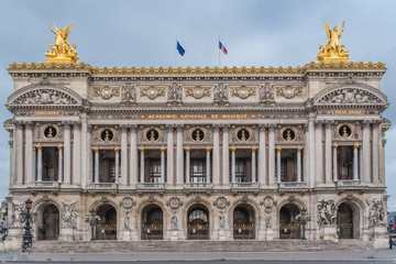 Fotorolgordijn Artistiek mon. Paris, Opera, beautiful monument of the french capital