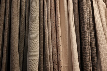 variety of curtains
