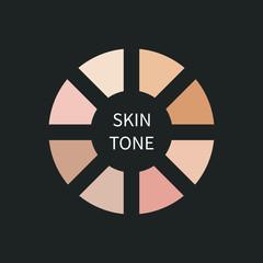Pallet skin tone