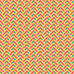 abstract retro zig zag seamless pattern