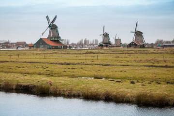 Zaanse Schans historic town, Netherlands