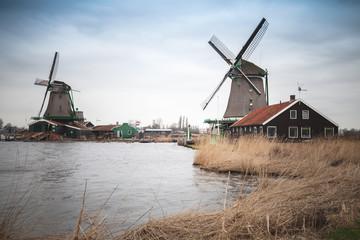 Zaanse Schans historic town of Netherlands