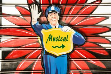 Schild 274 - Musical
