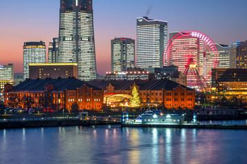 横浜みなとみらい全館ライトアップの夜景5